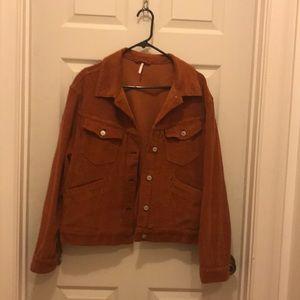 Free People Corduroy jacket.